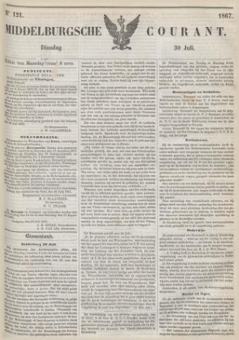 Middelburgsche Courant 1867-07-30