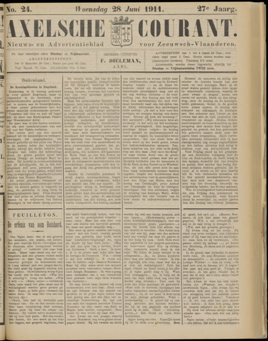 Axelsche Courant 1911-06-28