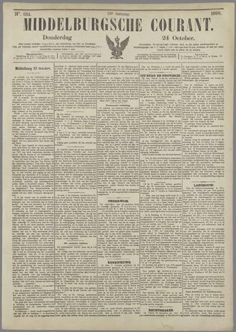 Middelburgsche Courant 1895-10-24