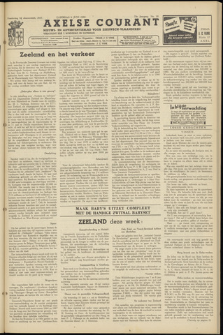Axelsche Courant 1959-06-06