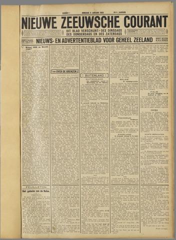 Nieuwe Zeeuwsche Courant 1932