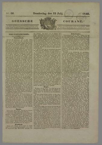 Goessche Courant 1843-07-13