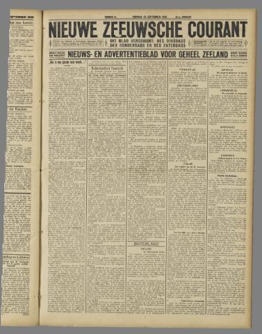 Nieuwe Zeeuwsche Courant 1925-09-29