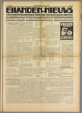 Eilanden-nieuws. Christelijk streekblad op gereformeerde grondslag 1935-05-22