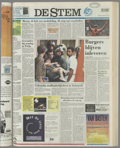 de Stem 1995-08-18