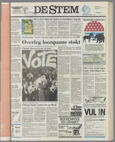 de Stem 1992-11-03