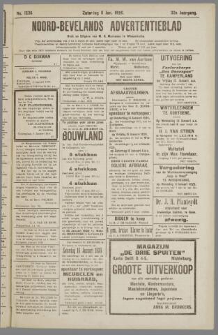 Noord-Bevelands Nieuws- en advertentieblad 1926-01-09