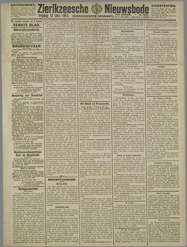 Zierikzeesche Nieuwsbode 1917-10-12