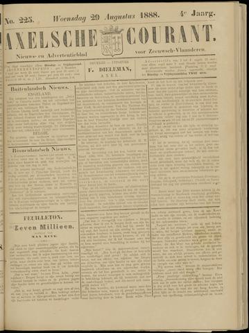 Axelsche Courant 1888-08-29