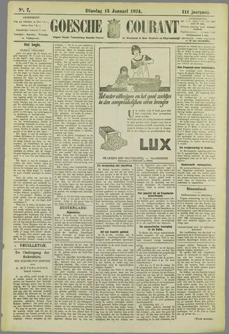 Goessche Courant 1924-01-15