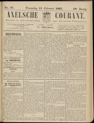 Axelsche Courant 1903-02-11