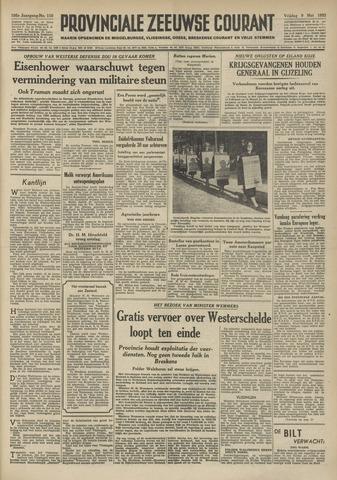 Provinciale Zeeuwse Courant 1952-05-09