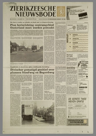 Zierikzeesche Nieuwsbode 1991-11-14