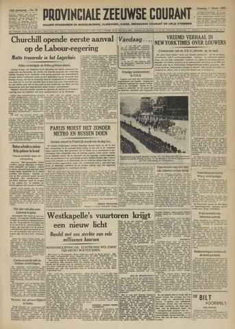 Provinciale Zeeuwse Courant 1950-03-07