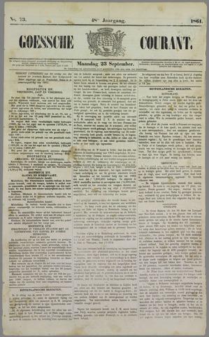 Goessche Courant 1861-09-23