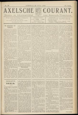 Axelsche Courant 1931-07-28