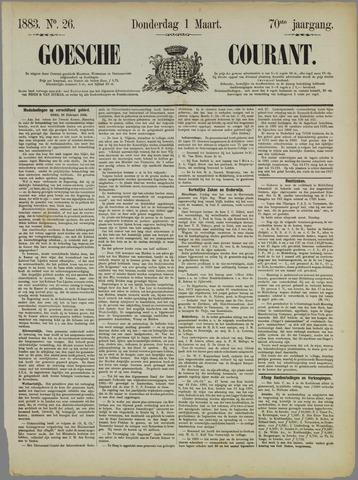 Goessche Courant 1883-03-01