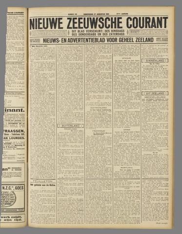Nieuwe Zeeuwsche Courant 1931-08-27