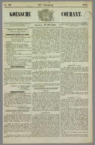 Goessche Courant 1856-12-15