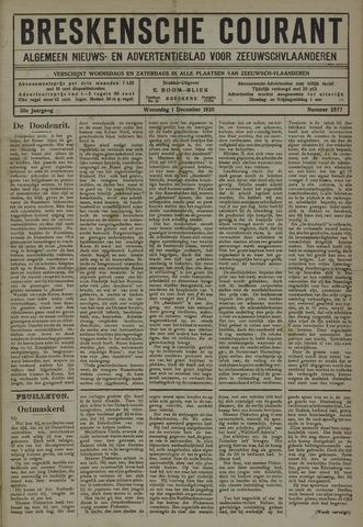 Breskensche Courant 1920-12-01