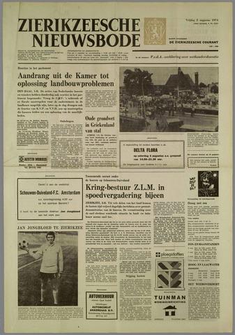 Zierikzeesche Nieuwsbode 1974-08-02