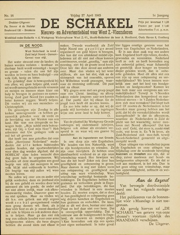 De Schakel 1945-04-27