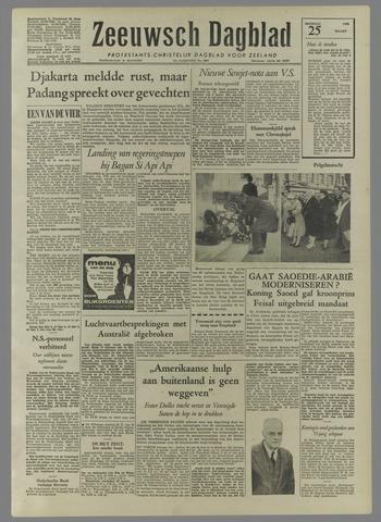 Zeeuwsch Dagblad 1958-03-25