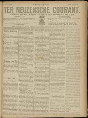 Ter Neuzensche Courant. Algemeen Nieuws- en Advertentieblad voor Zeeuwsch-Vlaanderen / Neuzensche Courant ... (idem) / (Algemeen) nieuws en advertentieblad voor Zeeuwsch-Vlaanderen 1917-07-14