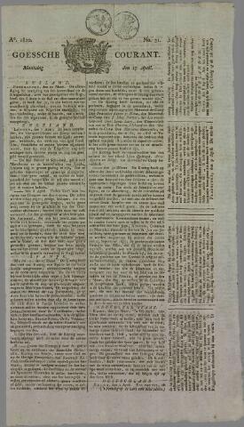 Goessche Courant 1820-04-17