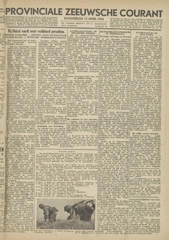 Provinciale Zeeuwse Courant 1944-04-13