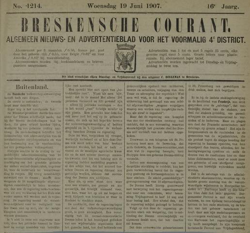 Breskensche Courant 1907-06-19