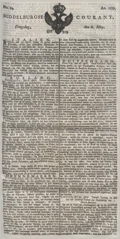 Middelburgsche Courant 1777-05-06