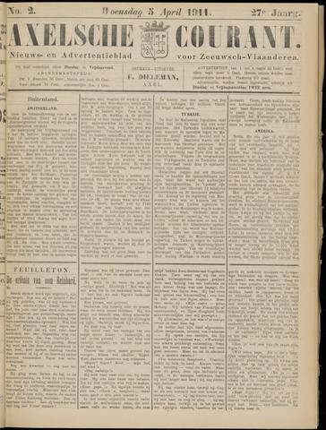 Axelsche Courant 1911-04-05