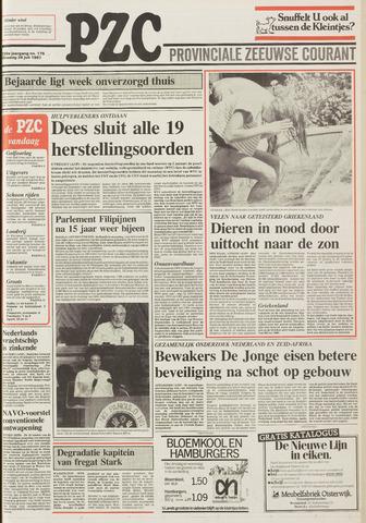 Provinciale Zeeuwse Courant 1987-07-28