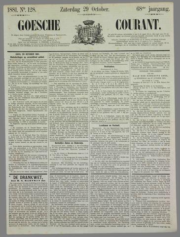 Goessche Courant 1881-10-29