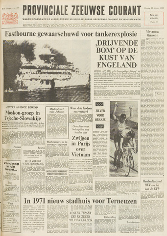 Provinciale Zeeuwse Courant 1968-10-22