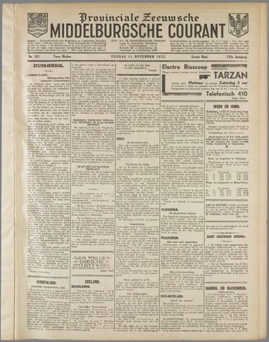 Middelburgsche Courant 1932-11-11