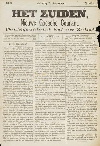 Het Zuiden, Christelijk-historisch blad 1880-12-25