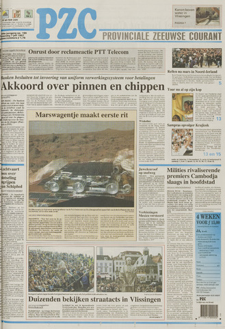 Provinciale Zeeuwse Courant 1997-07-07