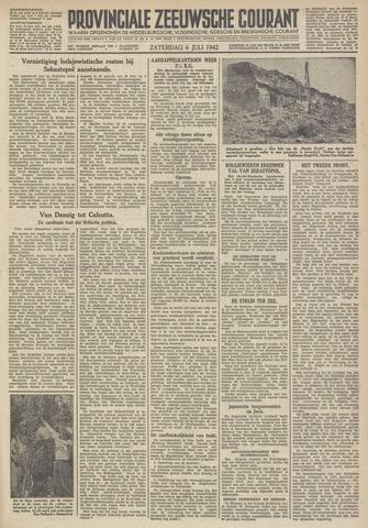 Provinciale Zeeuwse Courant 1942-07-04