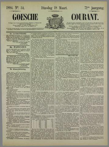 Goessche Courant 1884-03-18