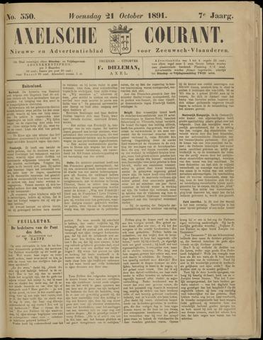 Axelsche Courant 1891-10-21