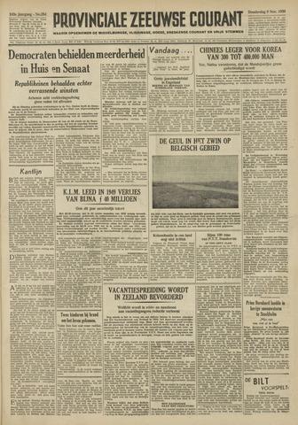 Provinciale Zeeuwse Courant 1950-11-09