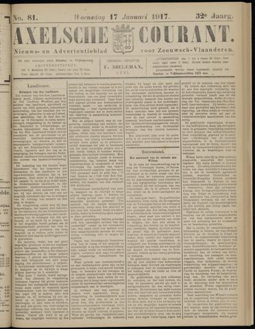 Axelsche Courant 1917-01-17