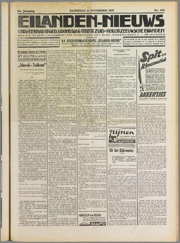 Eilanden-nieuws. Christelijk streekblad op gereformeerde grondslag 1939-11-11