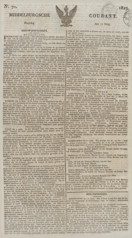 Middelburgsche Courant 1827-06-12