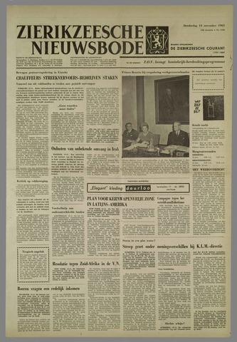 Zierikzeesche Nieuwsbode 1963-11-14
