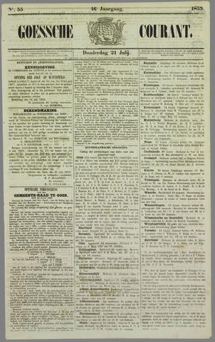 Goessche Courant 1859-07-21