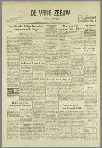de Vrije Zeeuw 1963-02-25