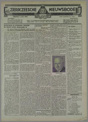 Zierikzeesche Nieuwsbode 1941-07-03